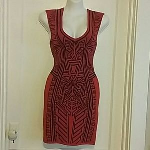 Forever 21 Red Cocktail/club/party dress